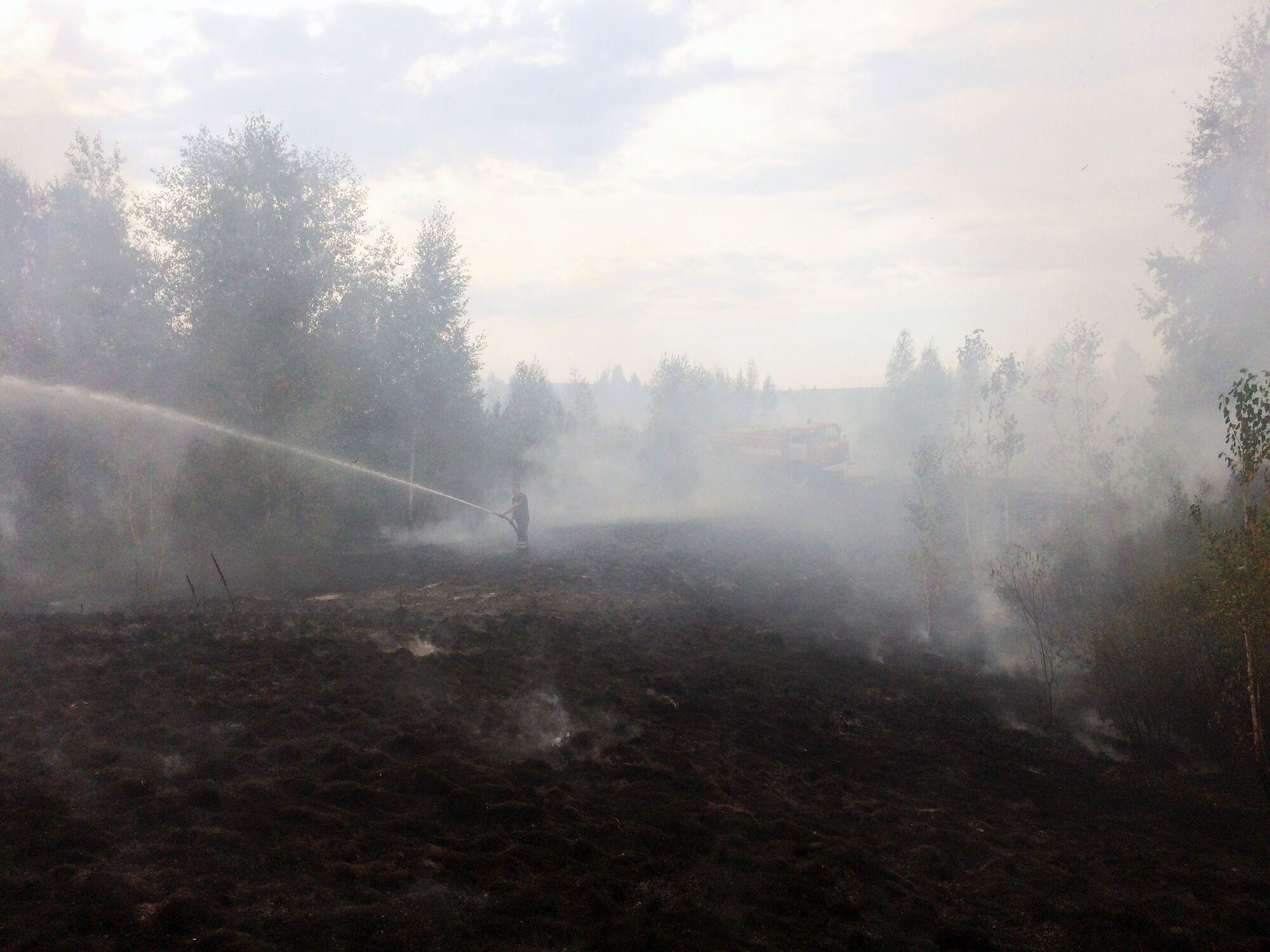 Під Черкасами палахкотить масштабна пожежа: оголошено надзвичайну ситуацію