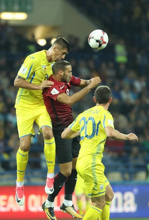 Сборная Украины добыла феерическую победу над Турцией в матче отбора ЧМ-2018