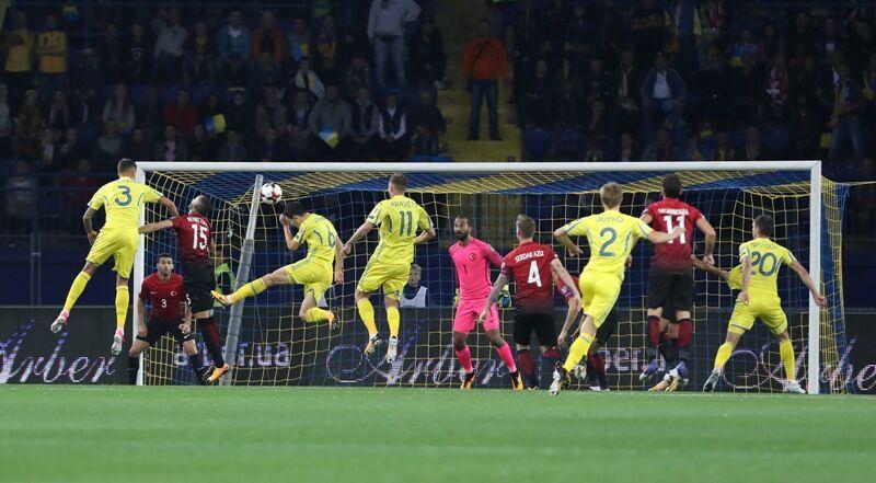 Збірна України здобула феєричну перемогу над Туреччиною в матчі відбору ЧС-2018