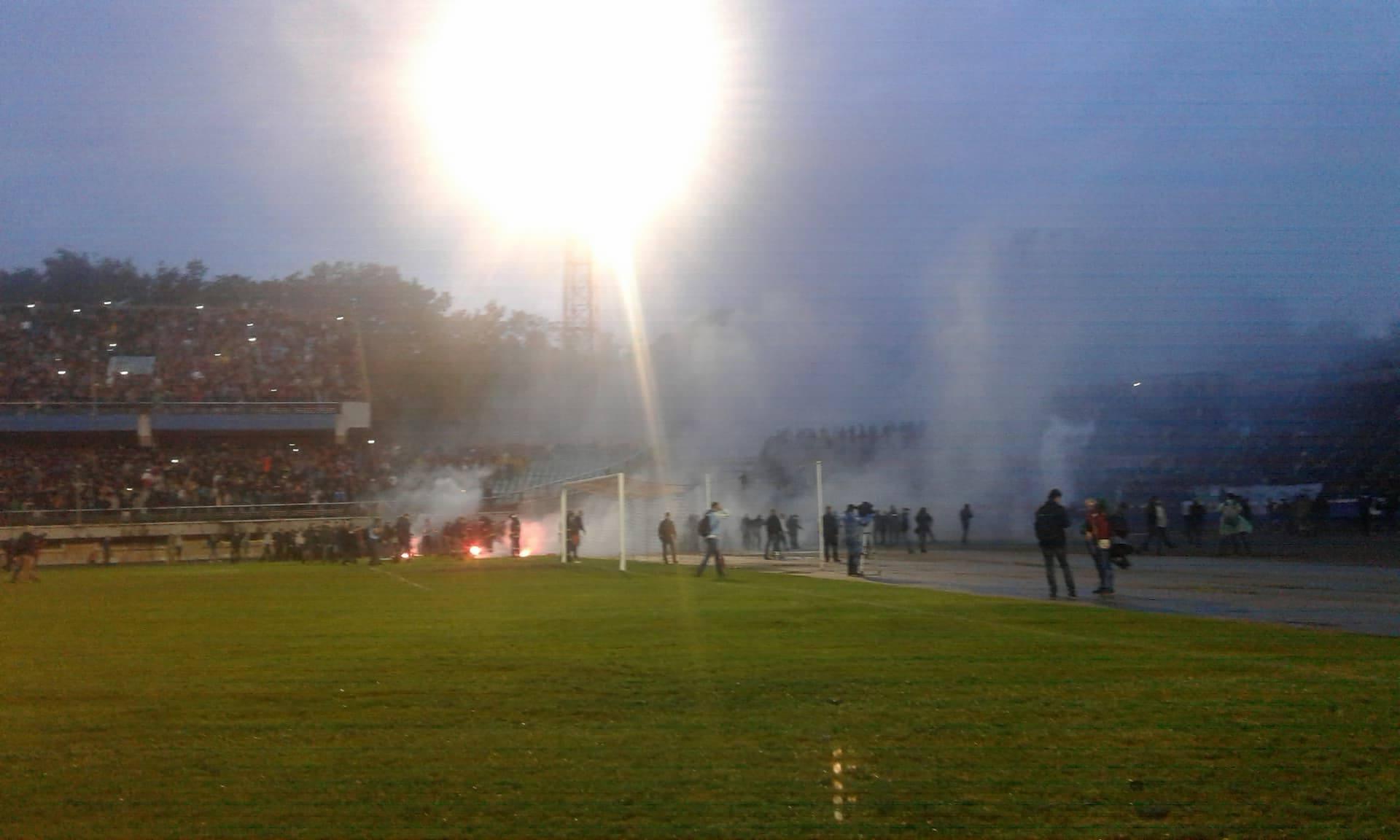 Милиция завела уголовные дела после матча «Прикарпатье»