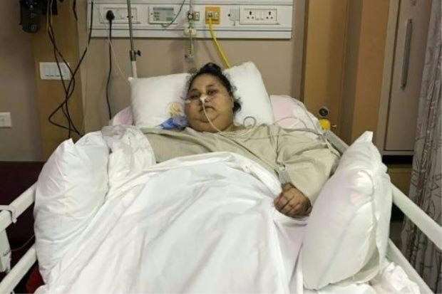В ОАЕ померла 300-кілограмова єгиптянка: фото найтовщої жінки в світі