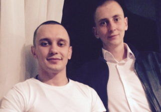 Виктор Поляндра и Михаил Ревазов