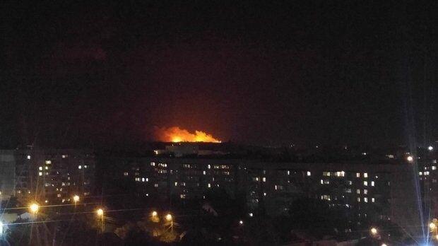 Пожежа на складах на Вінниччині: опубліковані вражаючі фото