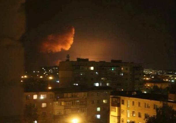 Взрывы вКалиновке: пожар на100% локализован