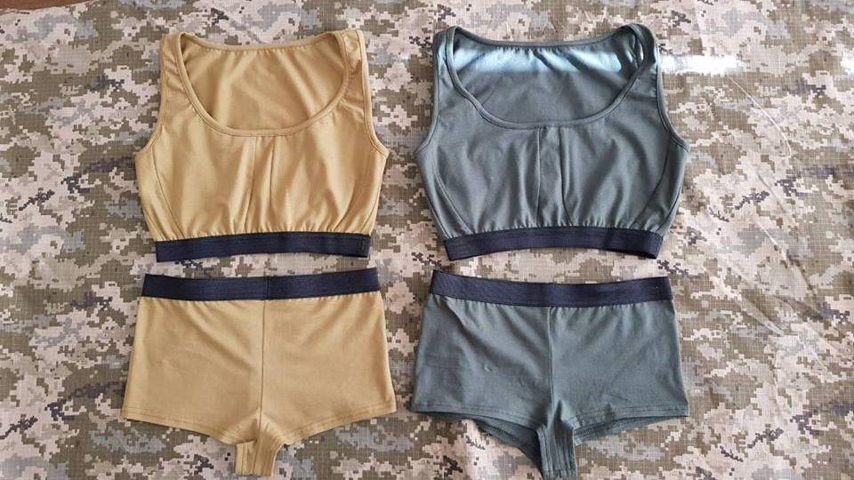 ВВСУ разработали концепт-кар нижнего белья для военнослужащих-женщин