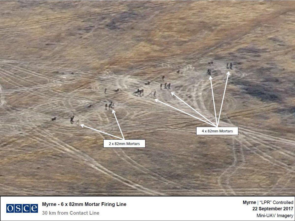 """За 15 хвилин від ударної позиції: опубліковані фото озброєння терористів """"ЛНР"""""""