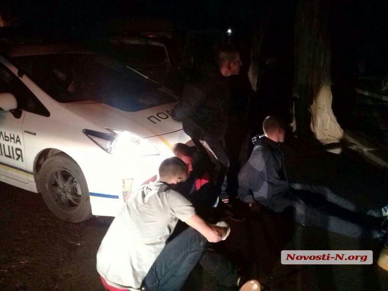 В Николаеве пьяные военные устроили погоню и драку с полицией