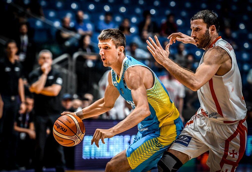 Сборная Украины добыла яркую победу на Евробаскете