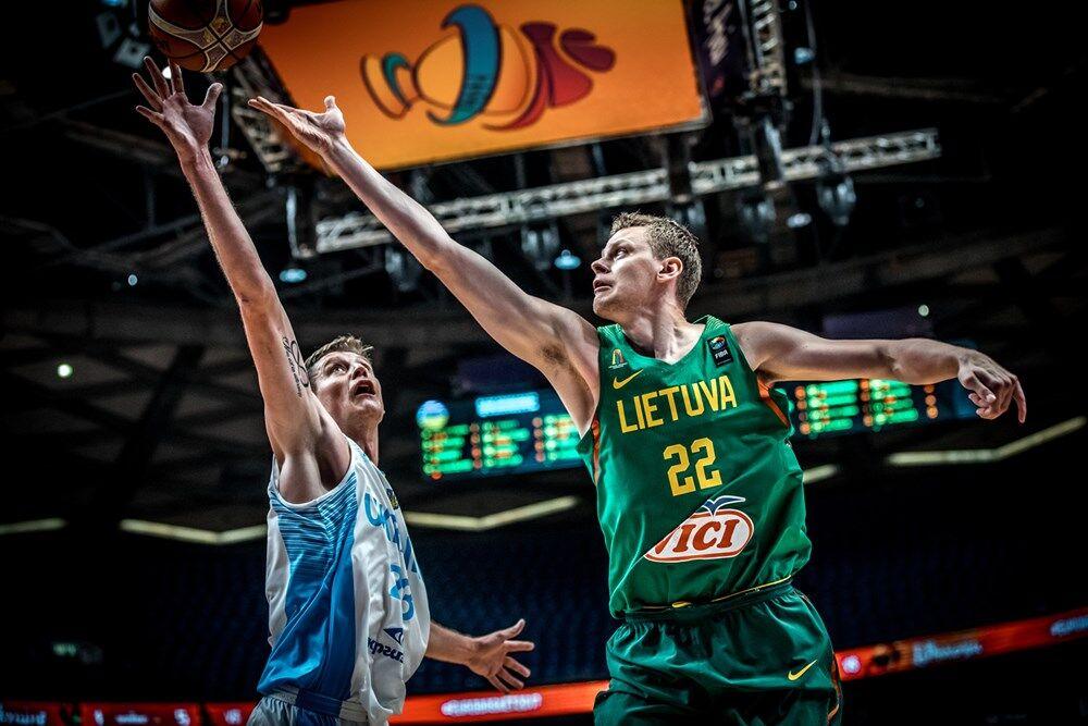 Сборная Украины проиграла Литве на Евробаскете-2017
