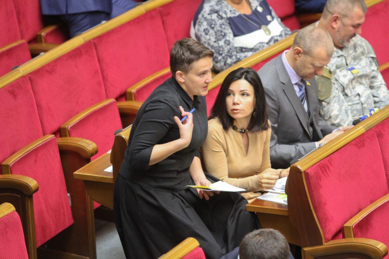 Новый имидж надежды савченко фото