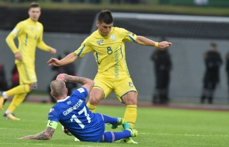 Сборная Украины проиграла Исландии в матче отбора ЧМ-2018