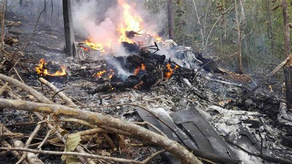 Авиакатастрофа в Коста-Рике