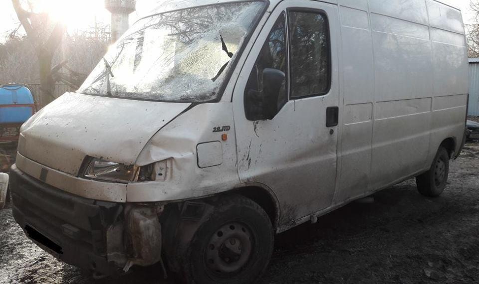 Авто, на котором водитель сбил подростка