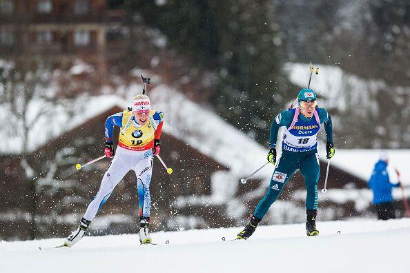 Две украинки вошли в топ-5 драматичной гонки Кубка мира по биатлону
