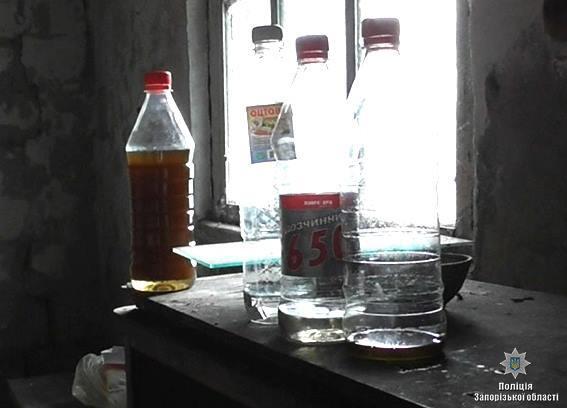 В Запорожской области уничтожили наркопритон