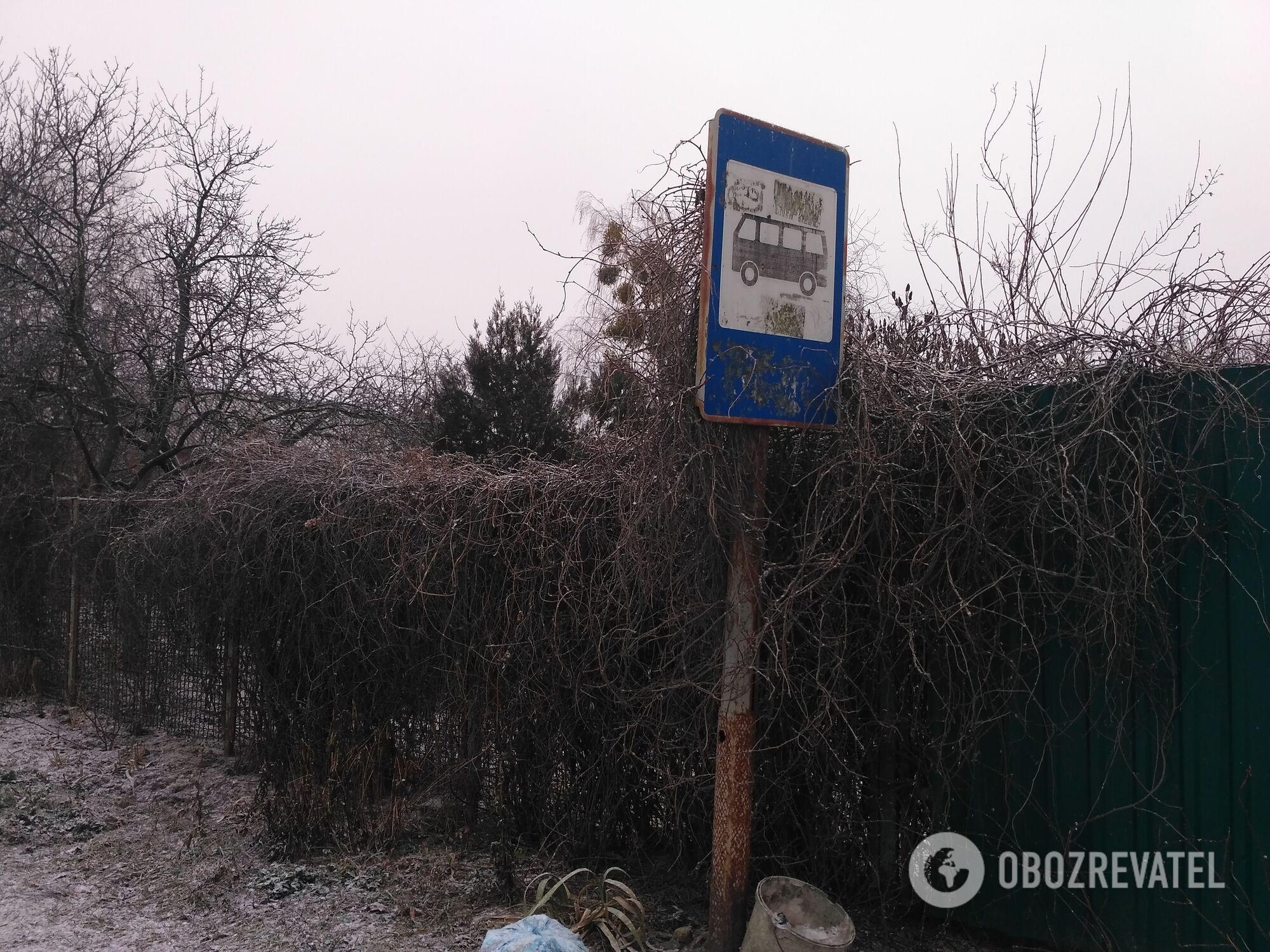 Остановка в Демидове, на которой якобы вышла Ирина вечером 29 декабря