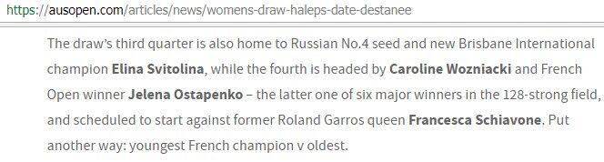 Пов'язано з Росією: організатори Australian Open осоромилися зі Світоліною