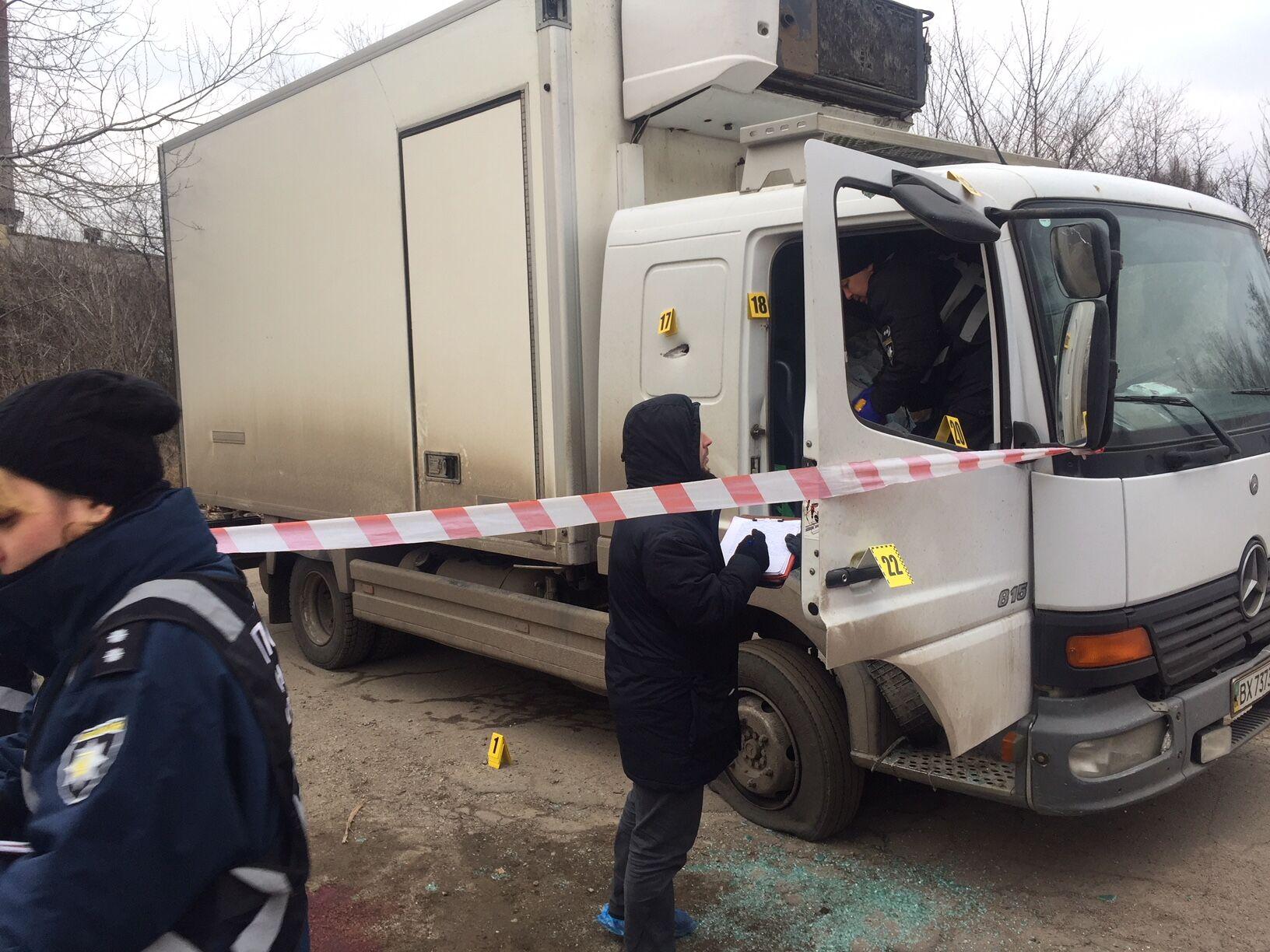 В Запорожье средь бела дня расстреляли бизнесмена