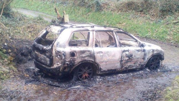 Пытали и сожгли: фото с места расправы над украинским бойцом в Европе
