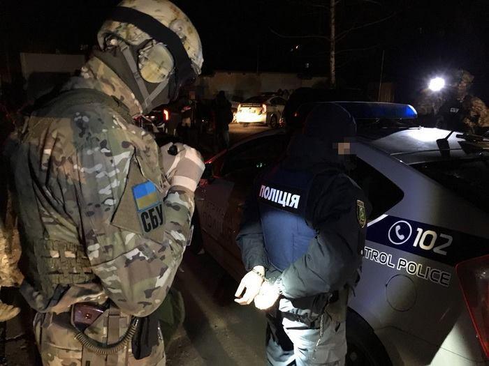 В Харькове СБУ обезвредила группу полицейских-взяточников
