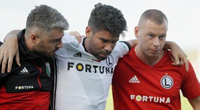 """Екс-гравець """"Шахтаря"""" отримав серйозну травму в дебютному матчі за новий клуб"""