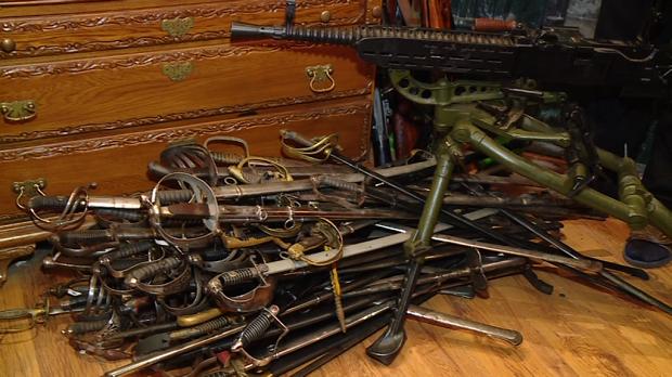 В Запорожье нашли подозреваемого в грабеже коллекции оружия Леонида Петрашина (ФОТО)