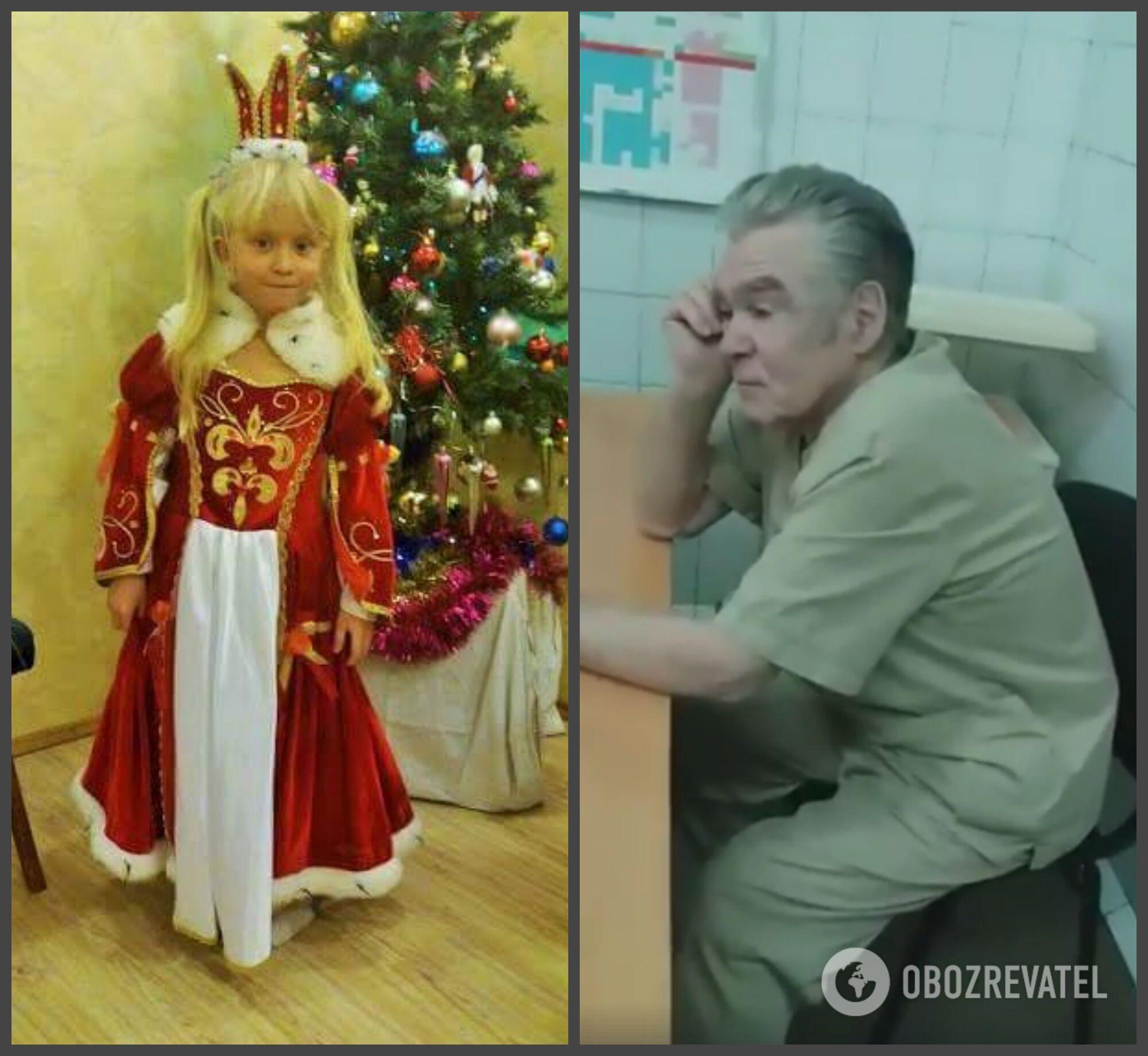 7-летняя Анастасия и 78-летний хирург