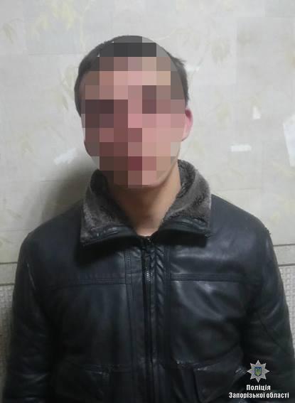 Очередное народное задержание преступников в Запорожской области