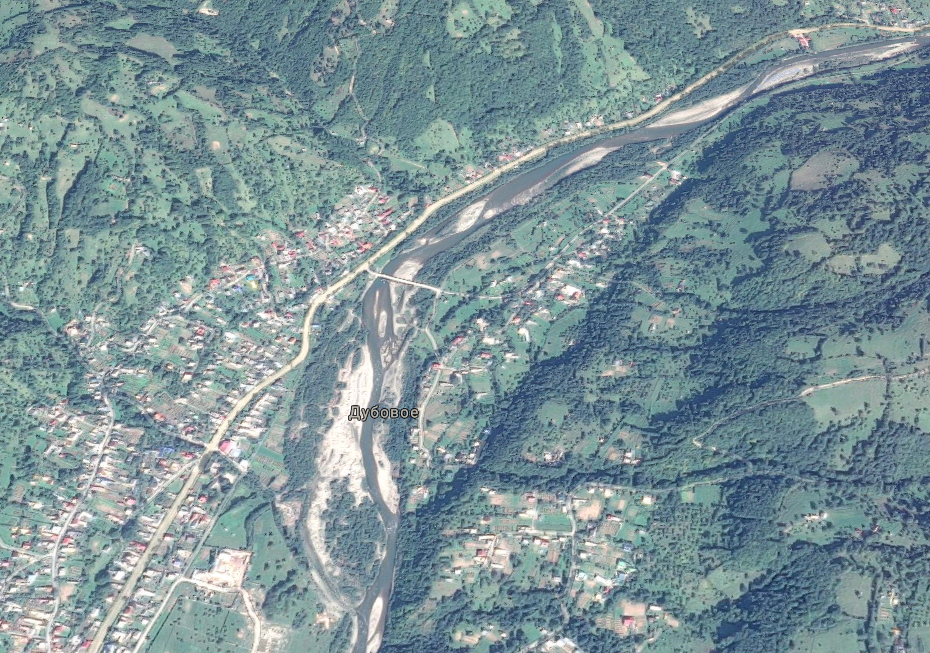 Тело было обнаружено на берегу реки Тересва