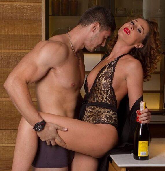 Украинская телезвезда выложила в сеть свое эротичное фото