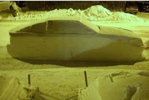 сніговий автомобіль