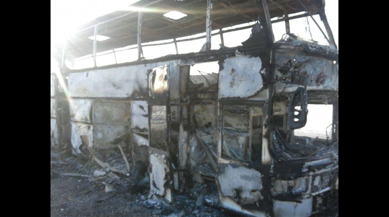 В Казахстане 52 человека заживо сгорели в автобусе