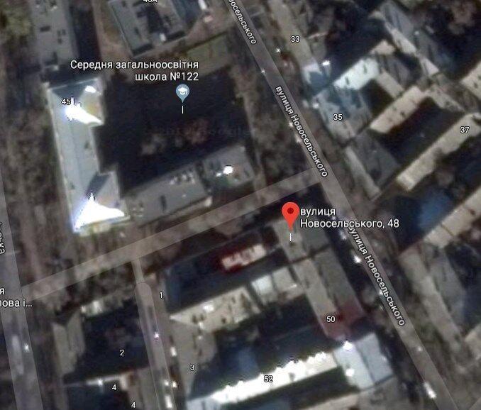 Одесса, ул. Новосельского, 48 - рядом школа