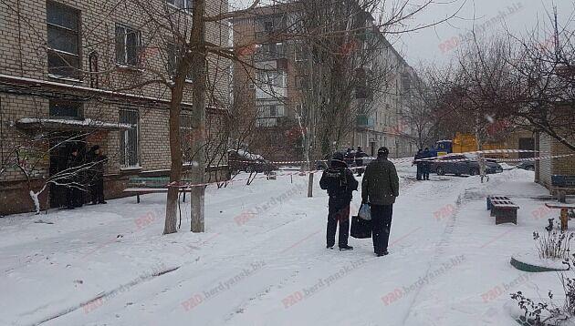 Взрыв в Бердянске