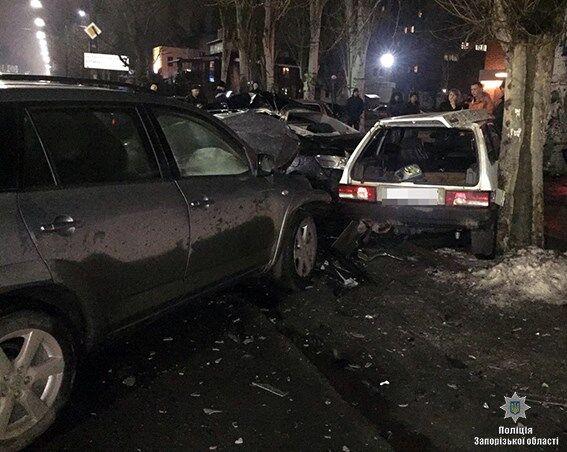 Массовое ДТП в Мелитополе: 3 жертвы и 5 разбитых авто (ФОТО)