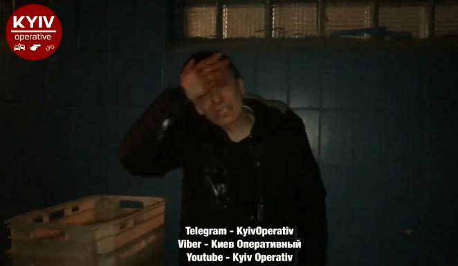 Бросался с ножом: в киевском супермаркете произошел кровавый конфликт