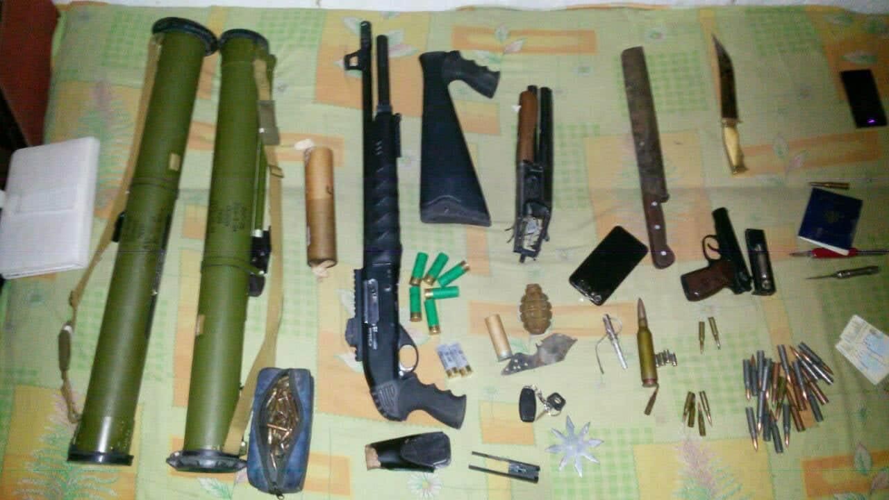 Гранатометы РПГ-26 и стрелковое оружие: результат обыска в Запорожье (ФОТО)