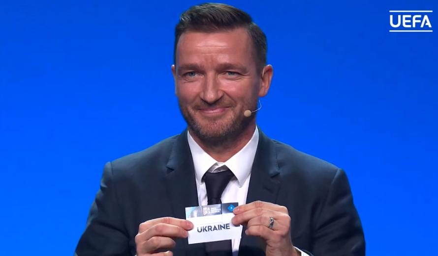 На жеребьевке Лиги наций УЕФА произошел курьез с Украиной и Россией