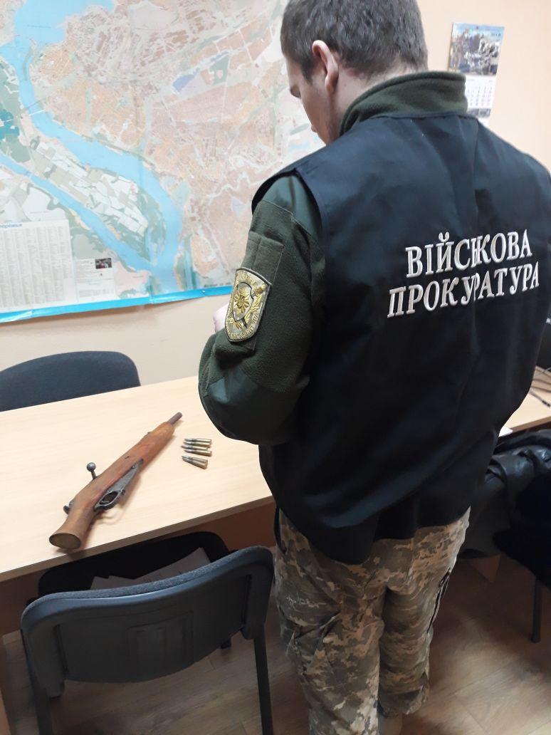 В Запорожье задержан торговец оружием (ФОТО)