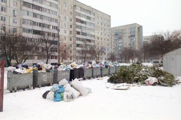 Город превратился в свалку: в Черкассах произошел мусорный коллапс