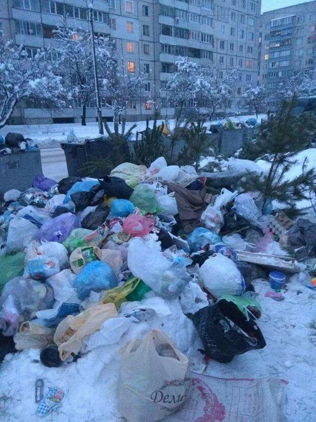 Місто перетворилося на смітник: уЧеркасах стався сміттєвий колапс