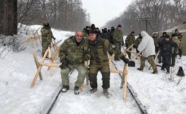 """""""Блокадники"""" Вано Надирадзе и Владимир Парасюк"""