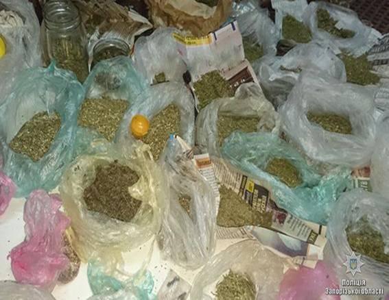 """В Запорожье """"черный"""" рынок лишили наркотиков почти на миллион (ФОТО, ВИДЕО)"""