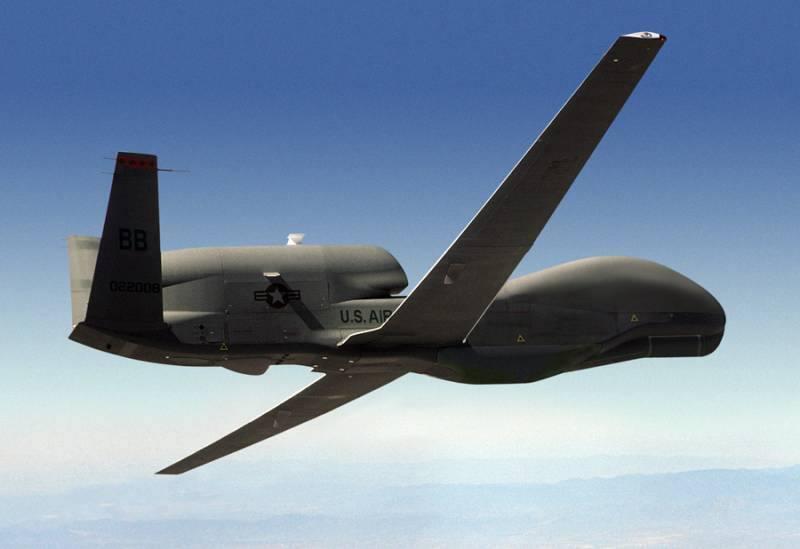 Global Hawk ВВС США провел разведку на Донбассе