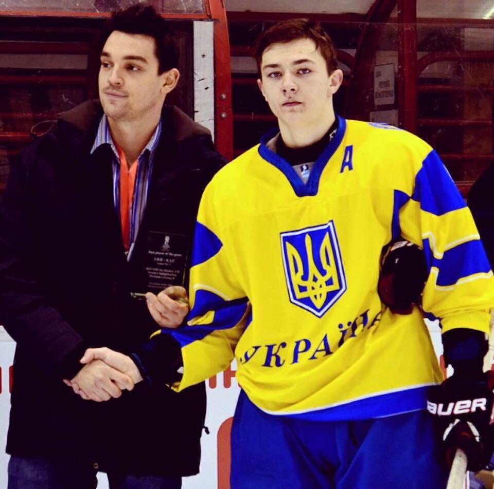 Перший камінь у фундамент української хокейної мрії