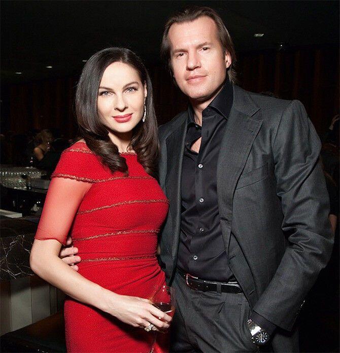 Жанна Волкова с бывшим мужем Сергеем Волковым