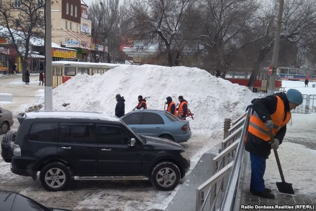 З'явилися свіжі фото з окупованого Донецька
