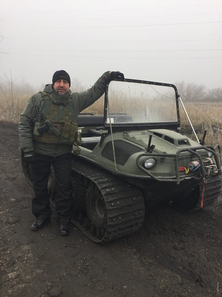 """Террористы """"ДНР"""" показали военную технику собственного производства"""