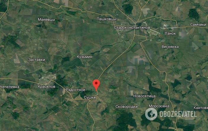 Авария в Хмельницкой области