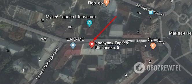 Здание на пер. Шевченко, 5